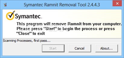 ramnit virus removal tool