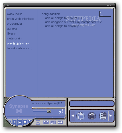 Synapse Media Player was Zuckerberg's earliest successes