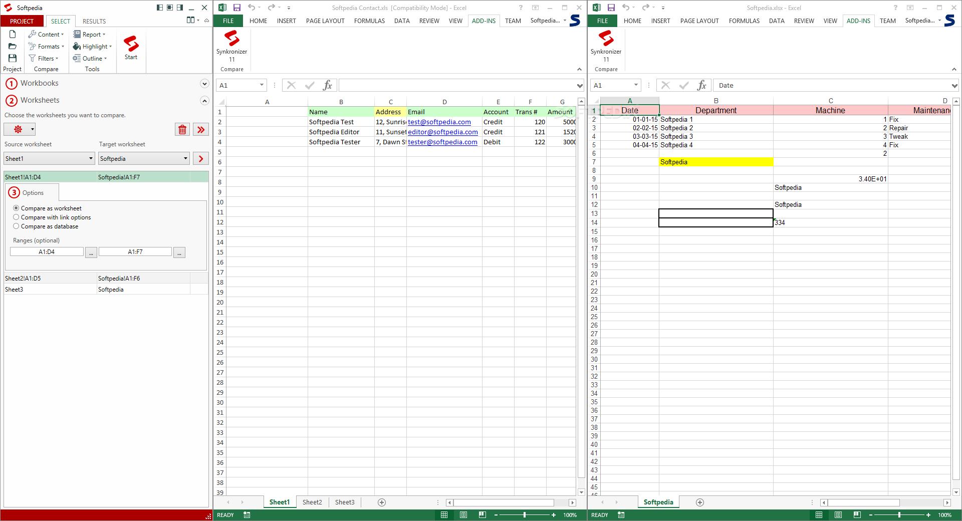 Resultado de imagen para Synkronizer for Excel 11.2