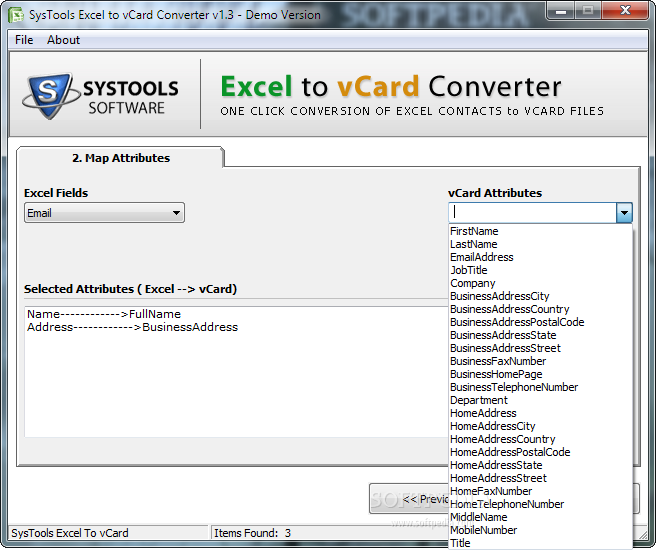 excel to vcard converter full version free download