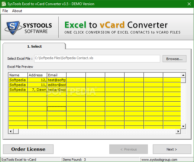 How to Convert Excel File into vCard Format Export XLS Contacts to VCF