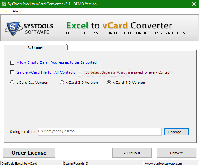 Excel to vcard converter online free download full version
