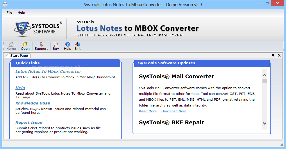 Download SysTools Lotus Notes to MBOX Converter 3 0 0 0