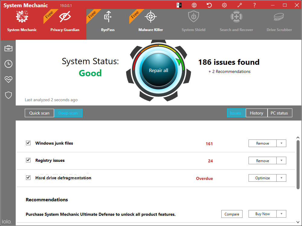 system mechanic pro 17.5.1.43 serial