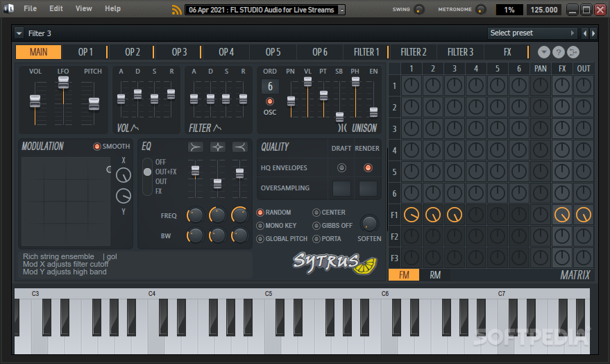 Download Sytrus 2 6 74