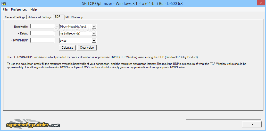 Download TCP Optimizer 4 1 0