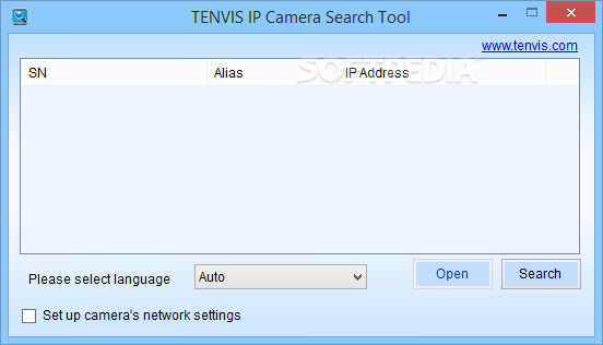 tenvis search tool