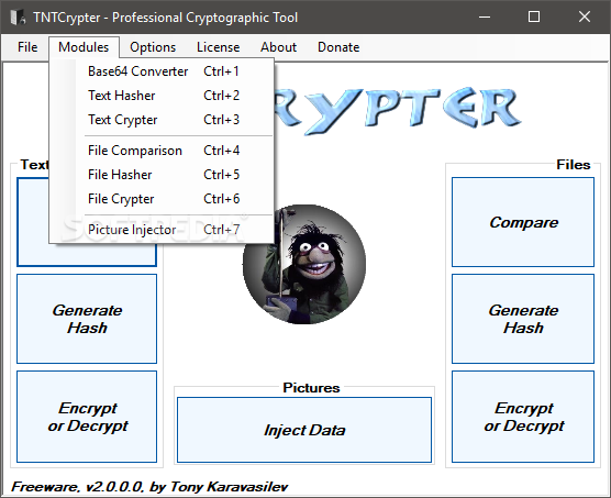 Download TNTCrypter 2 0 0 0