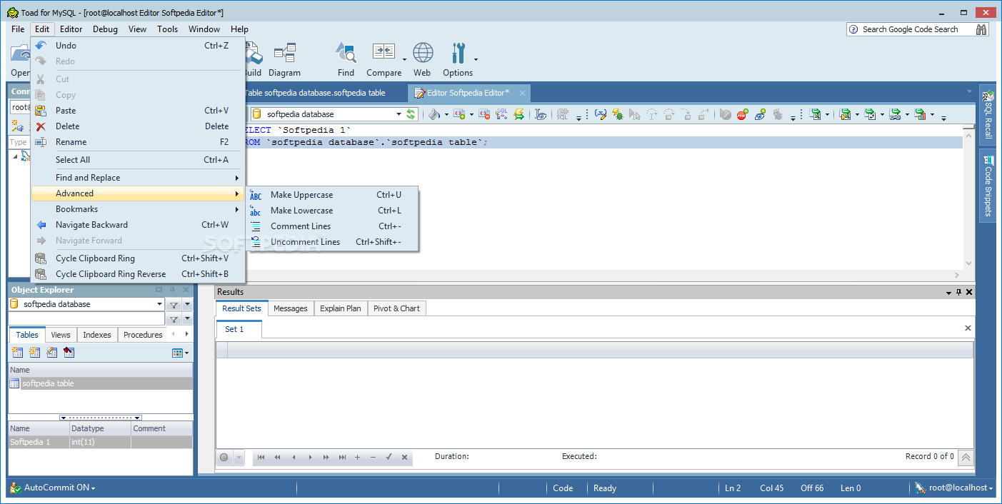 Download TOAD for MySQL 8 0 0 296