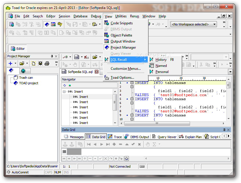 toad for oracle 12.12 license key