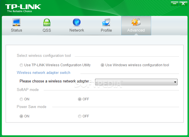 Download TP-LINK Wireless Configuration Utility 2.01.0012