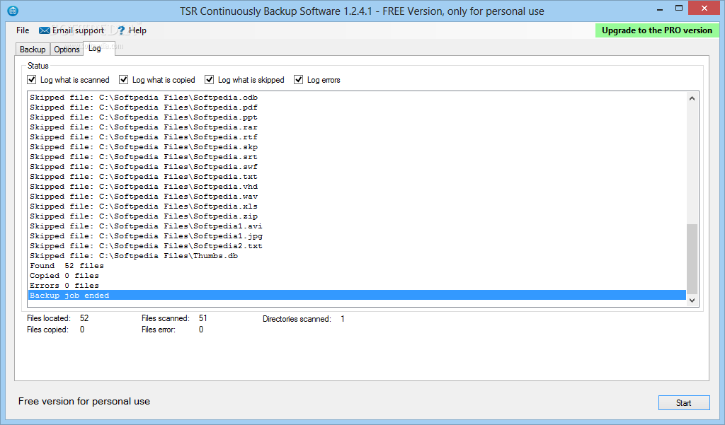 Download TSR Continuously Backup FREE 1.3.1.1