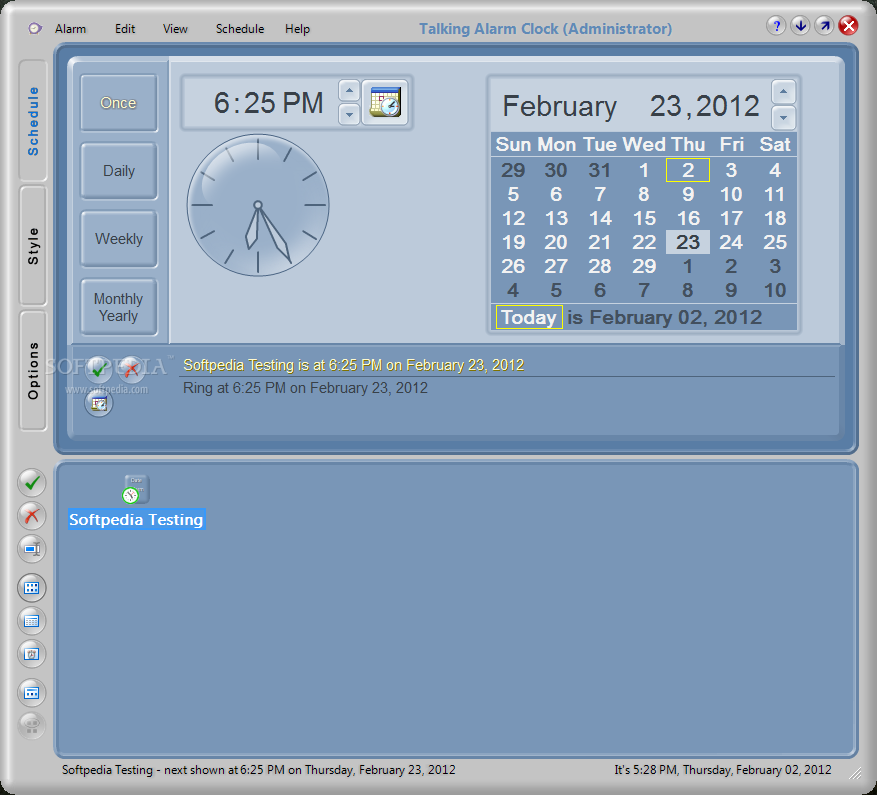 Results for alarm clock for windows 7