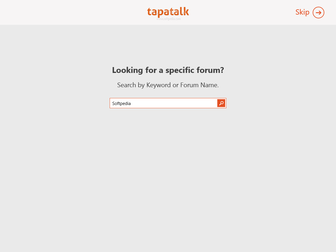 Download Tapatalk for Windows 8 1 1 2 1 0