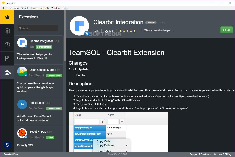 Download TeamSQL 4 0 392
