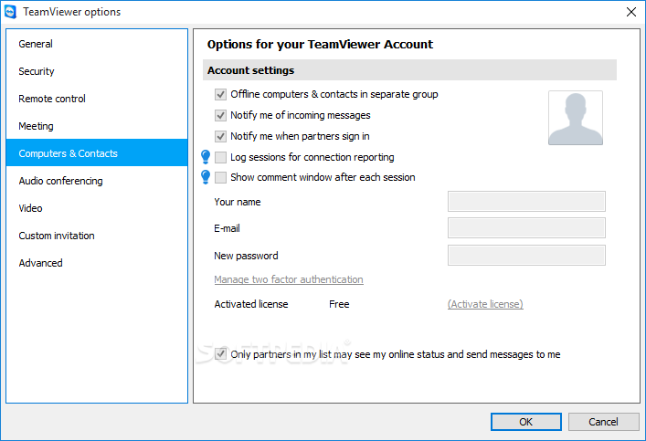 TeamViewer Portable screenshot 14
