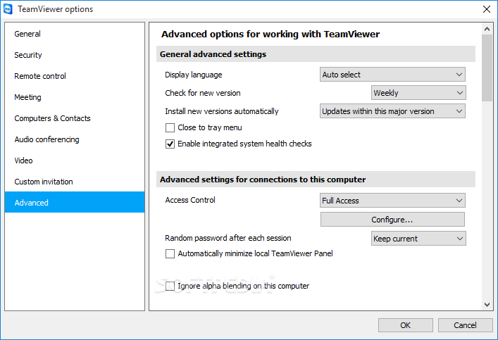TeamViewer Portable screenshot 16