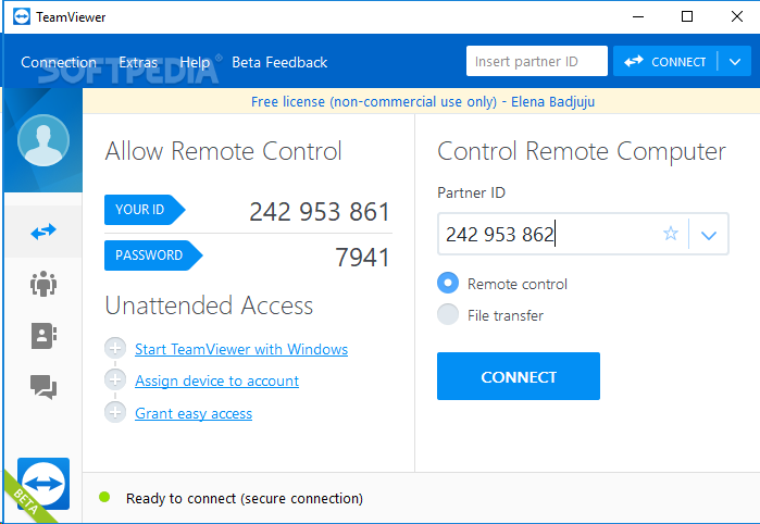 TeamViewer 12.0.88438 Serial Key With Crack Portable