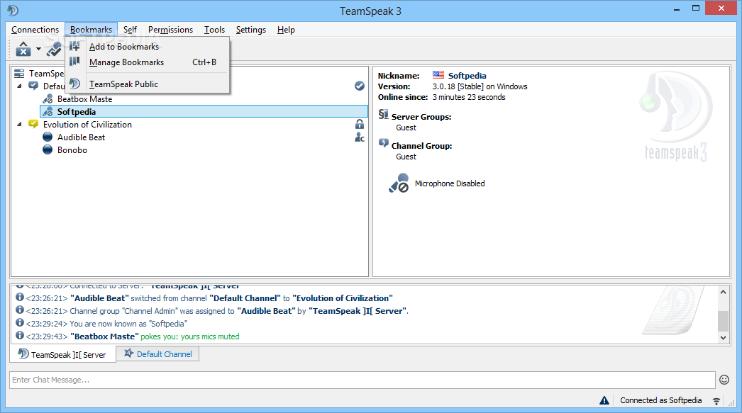 Download TeamSpeak Client 3 3 0