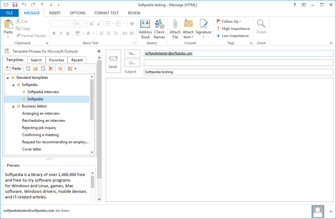 Download template email outlook express free balladothris for Outlook 2007 template shortcut