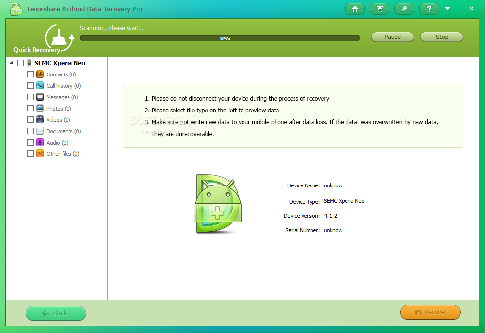 Download Tenorshare Android Data Recovery Pro 4 3 0 0