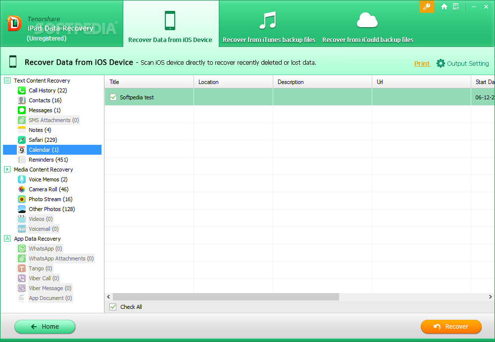 how to get data from ipad notepad