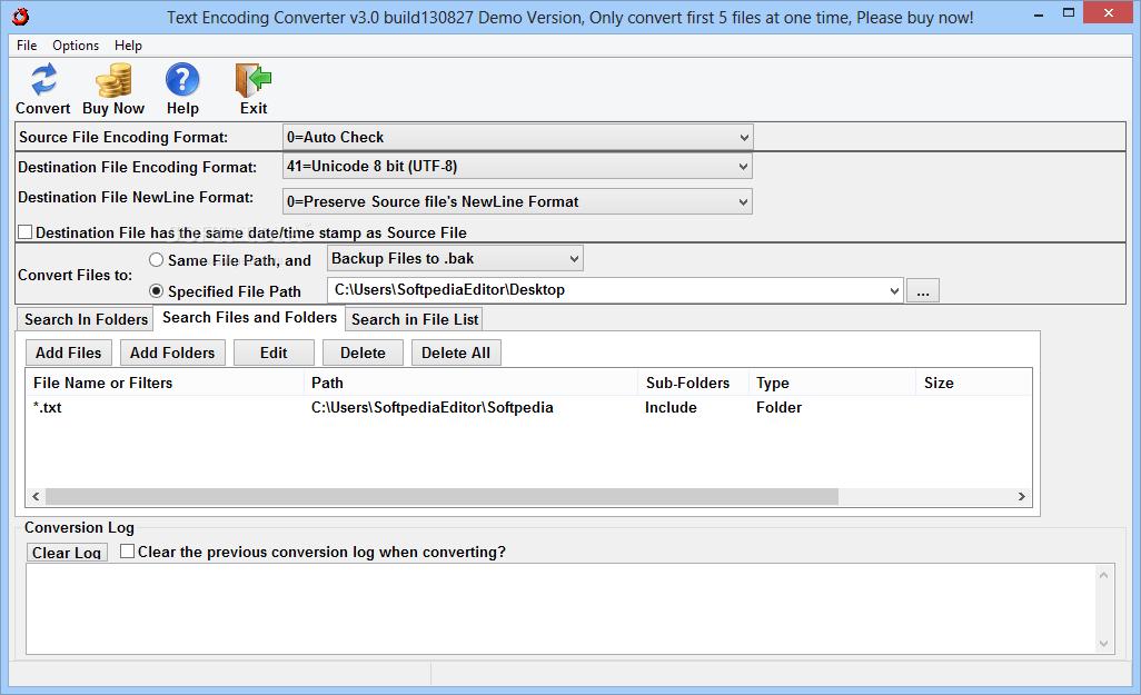 Download Text Encoding Converter 3 0 Build 130820