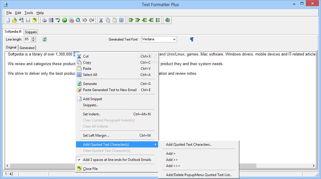 Download Text Formatter Plus 1 2 15,481