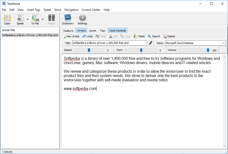 read text aloud software free