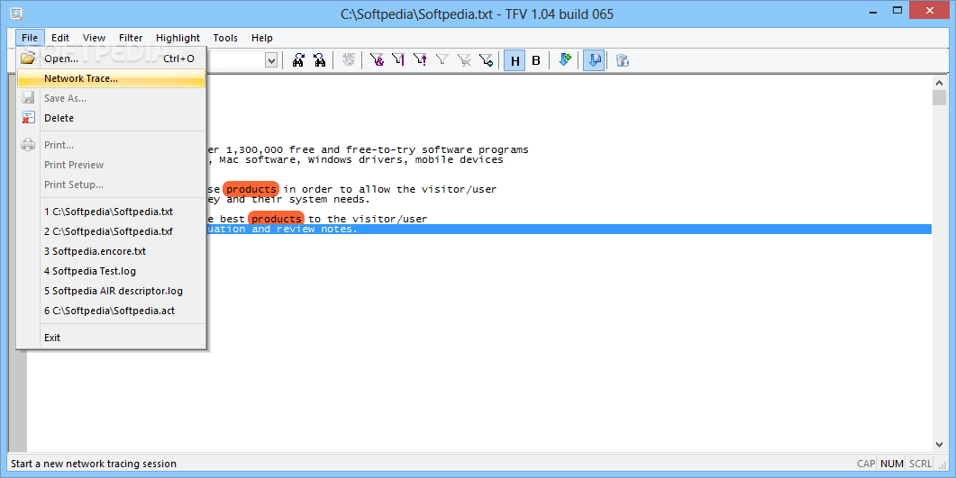 Download TextFile Viewer 1 04 Build 065