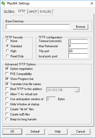 tftpd32 pour windows 7