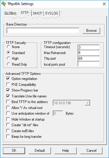 Download Tftpd32 4 64