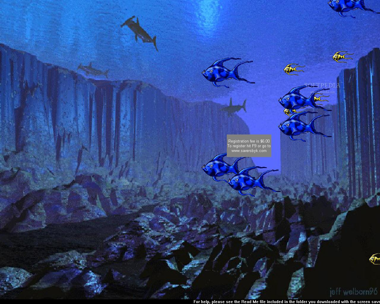 3D Aquarium Fish Screensaver