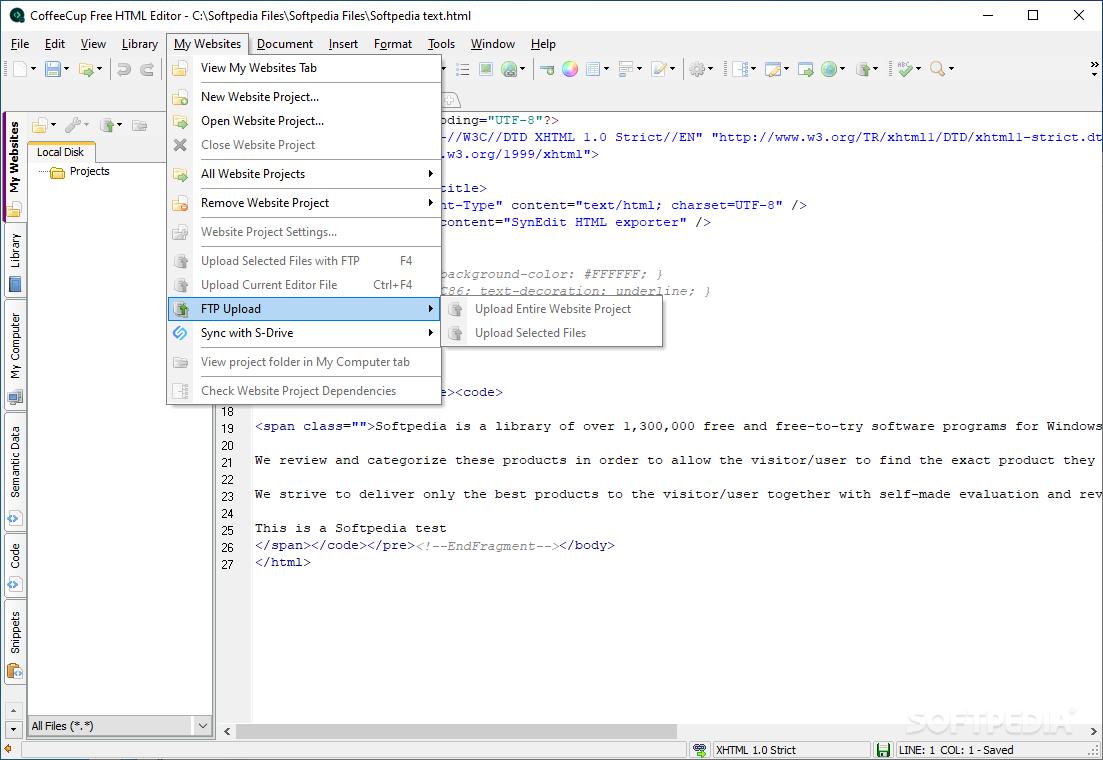 Download CoffeeCup Free HTML Editor 16 1 Build 808