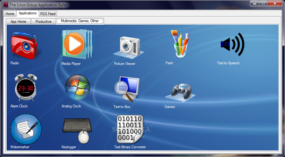 Download The Linux Group Application Suite 1 3 1