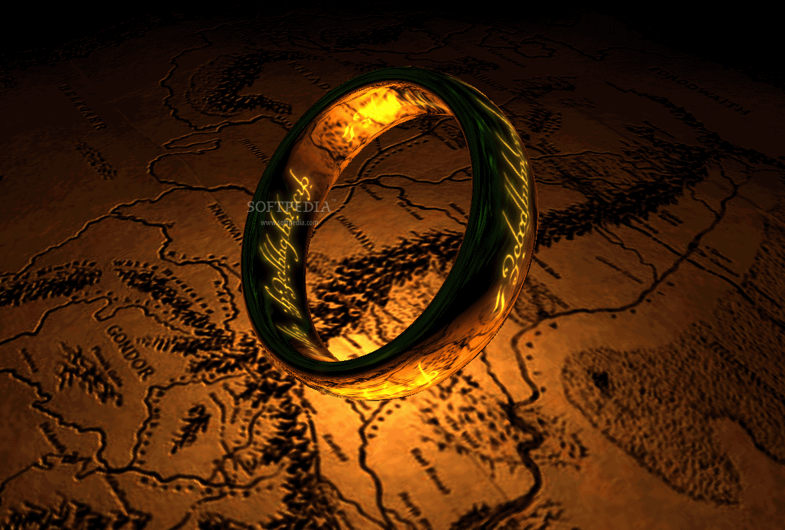 Download The Lord Of The Rings The One Ring 3d Screensaver 1 1