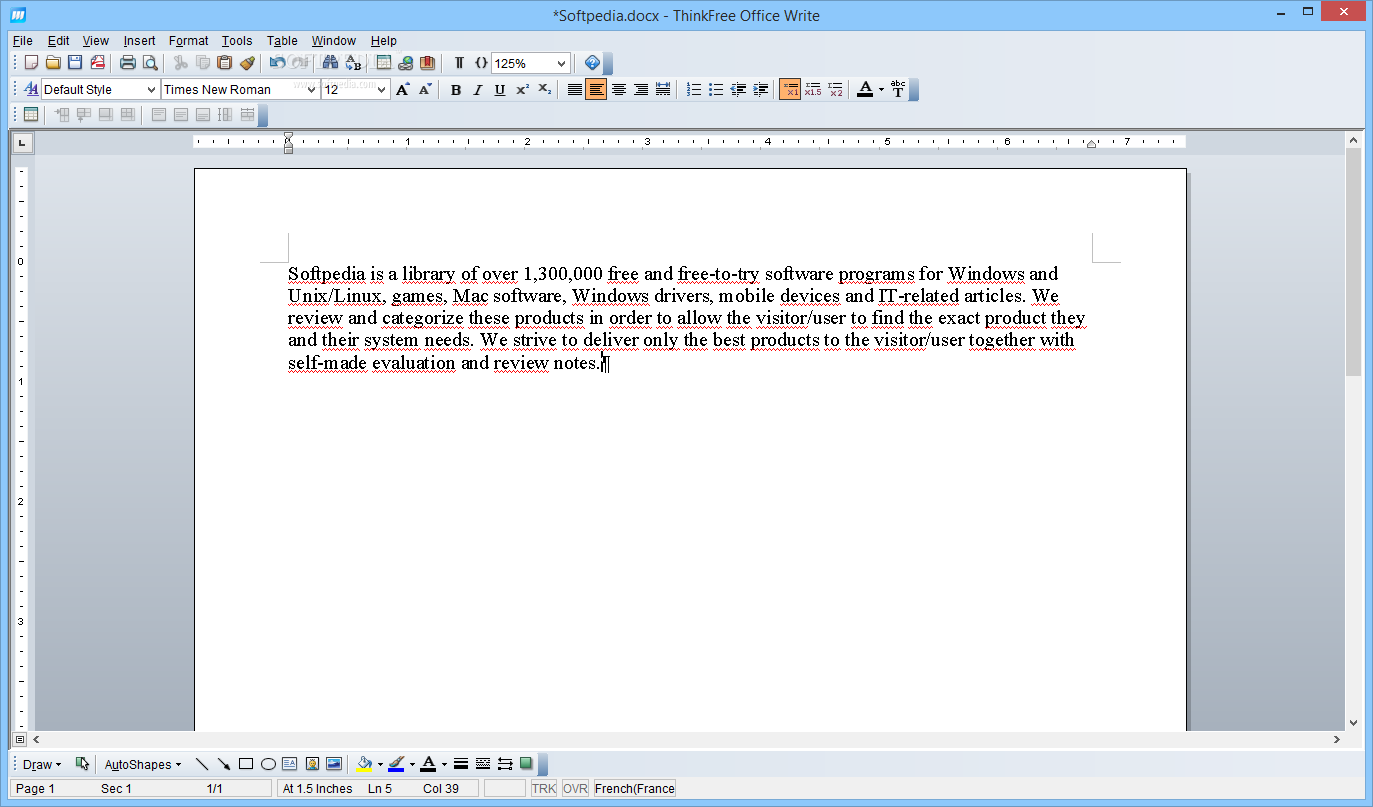 Download Thinkfree Office 4.0.1480.198