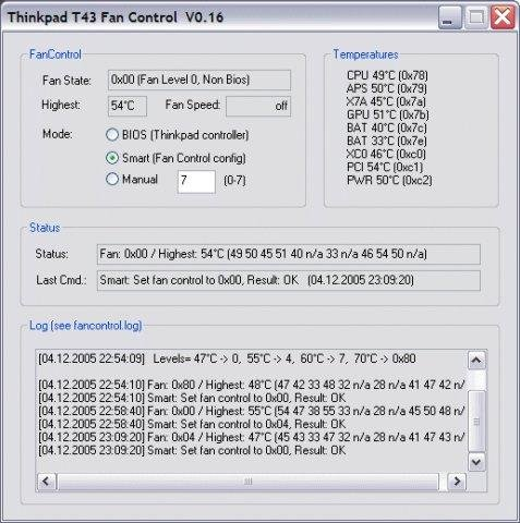 Computer fan: control computer fan speed software.