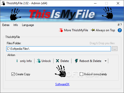 ThisIsMyFile 2.55 + Portable Delete Non-removable File In Windows