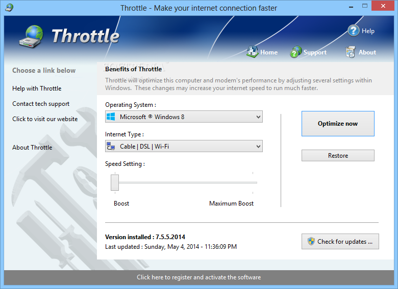 Throttle Download