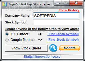 Desktop forex ticker