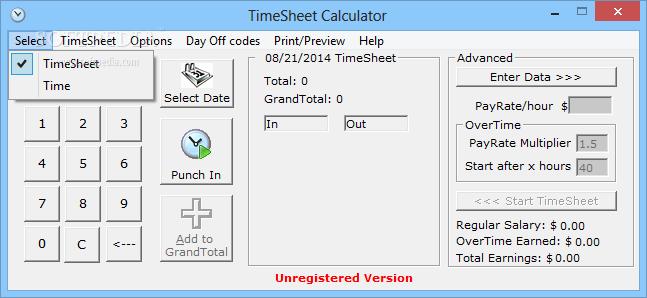 download timesheet calculator 3 53