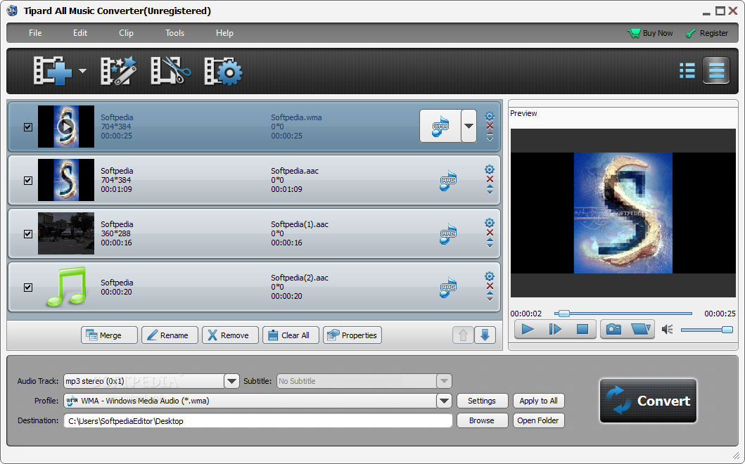 Download Tipard All Music Converter 9.2.16