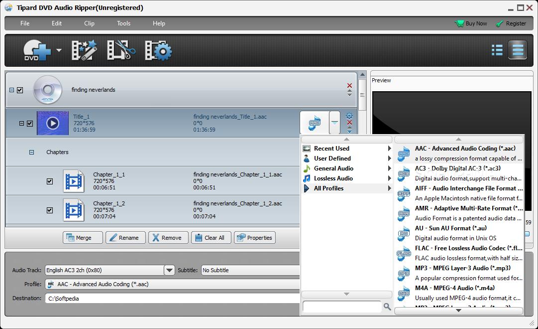 gratis dvd audio extractor 4.5.5