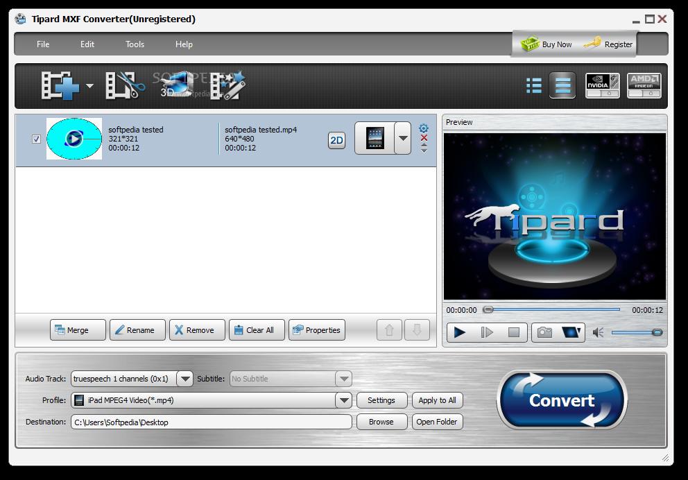 mxf converter download