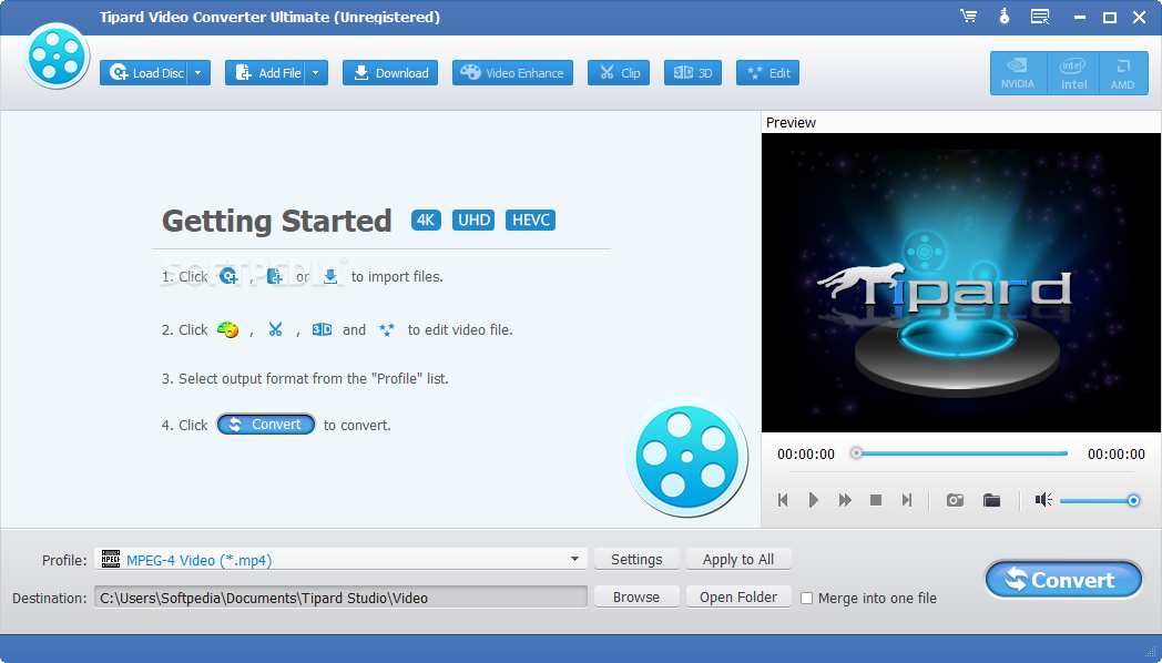 Tipard Video Converter Ultimate Lets You Convert Files And Also