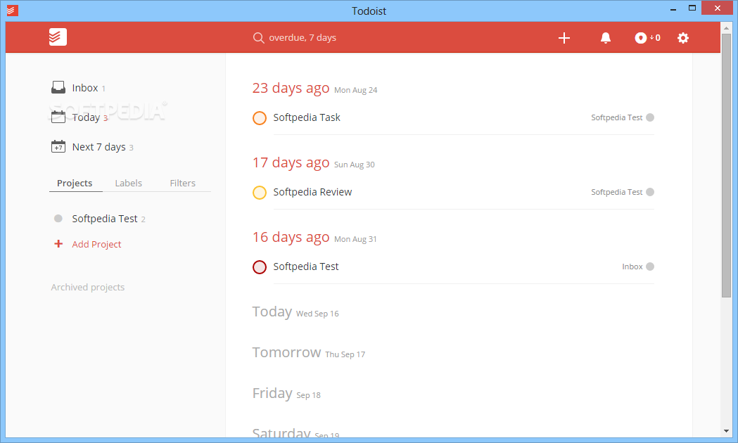 Download Todoist 2 7 6 0 / 1 1 80