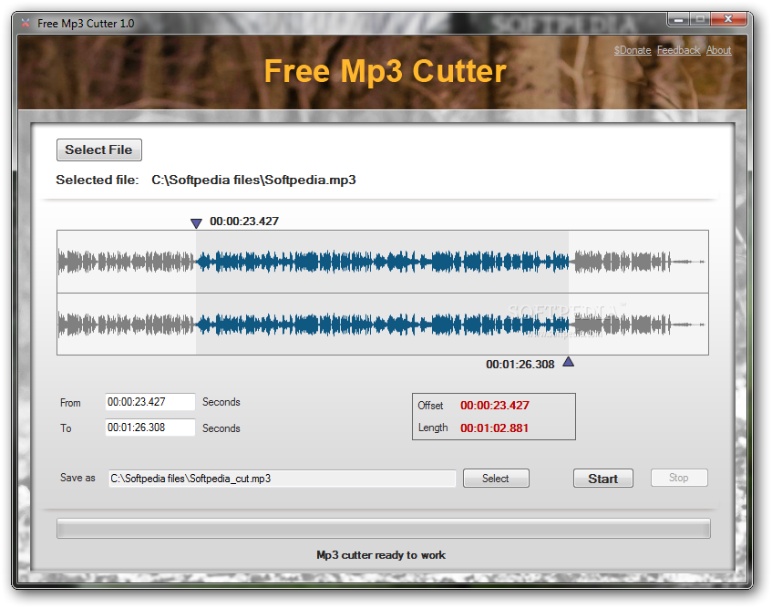 mp3 cutter for windows 10 filehippo