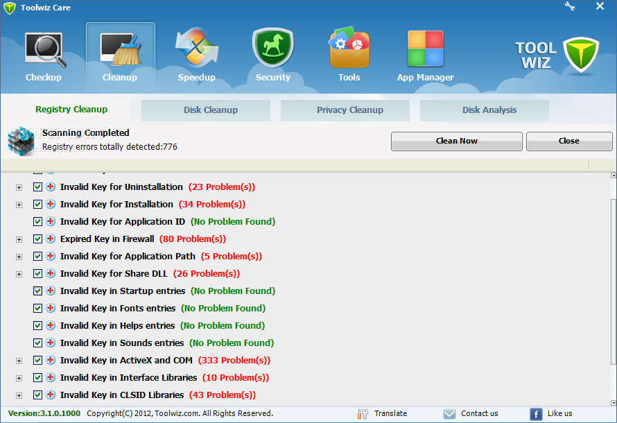descargar tool wiz care pc
