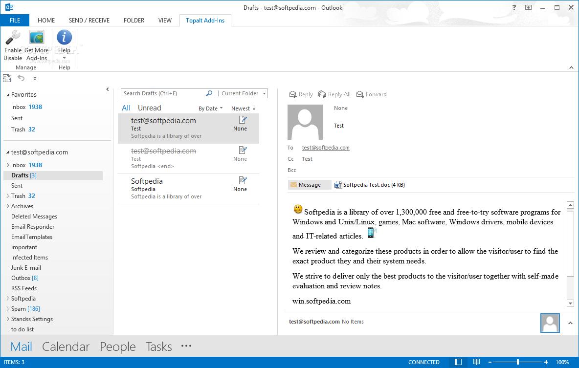 Download Topalt Emoticons for Outlook 3 25 6997